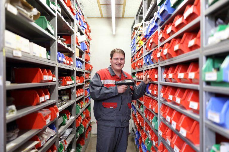 Schwenk Lagerlogistik Mitarbeiter
