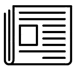 Zeitung Icon Mitteilungsblatt