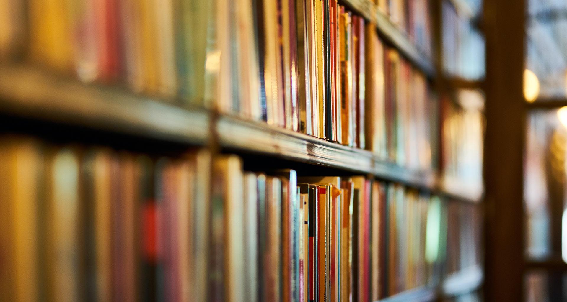 Bücherei Symbolfoto