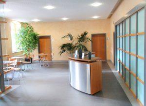 Bürgerhaus innen foyer