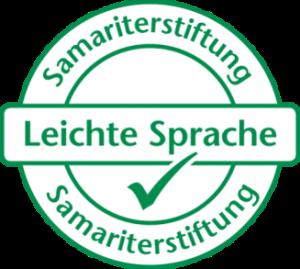 Samariterstiftung Leichte Sprache Logo