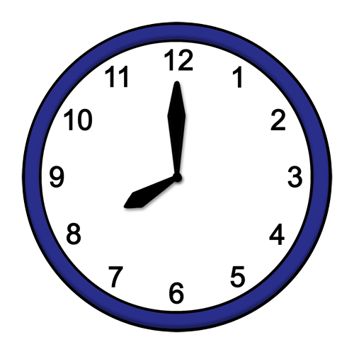 8 Uhr